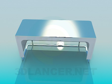 3d модель Лавка Hi-Tech – превью
