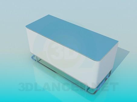 modelo 3D Banco de alta tecnología - escuchar