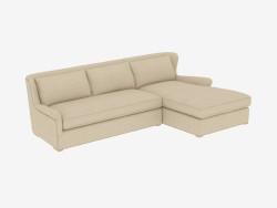 Modular Corner Sofa SECTIONAL (7843-3101 A015-A) RAF
