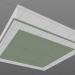 modello 3D plafoniera - anteprima