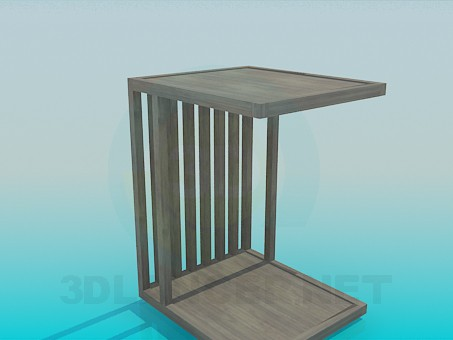 3d model Wooden shed - preview