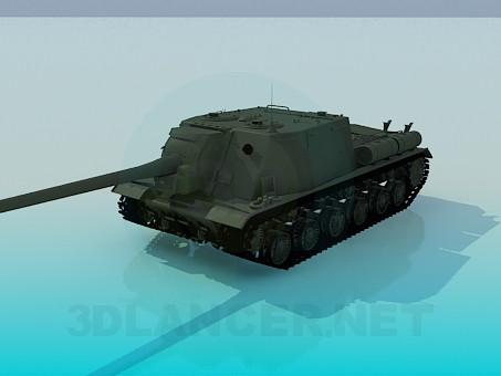 3d модель Isu-122 – превью