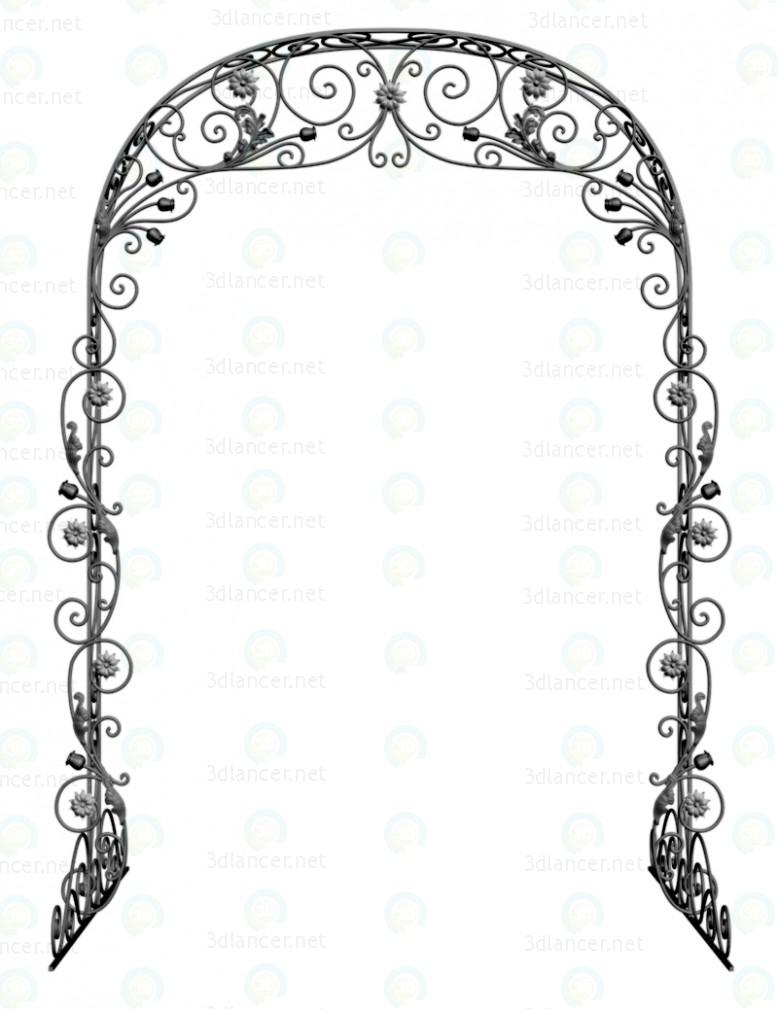 3d Весільна арка модель купити - зображення