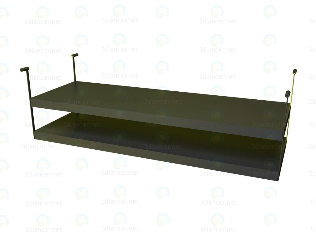 3d моделирование Полка для стола P1S1706AS модель скачать бесплатно