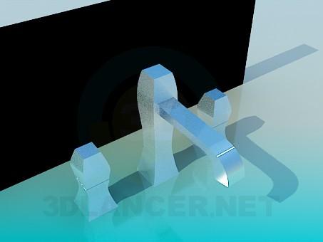 3d model Grifo de agua - vista previa