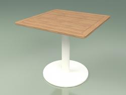 Table 001 (Métal Lait, Teck)