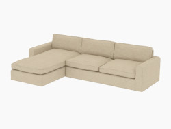 Modular Corner Sofa UPHOLSTERED SECTIONAL
