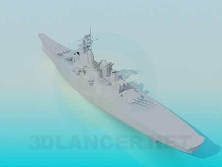 3d модель Корабль – превью
