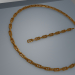 3d model Anchor chain - preview