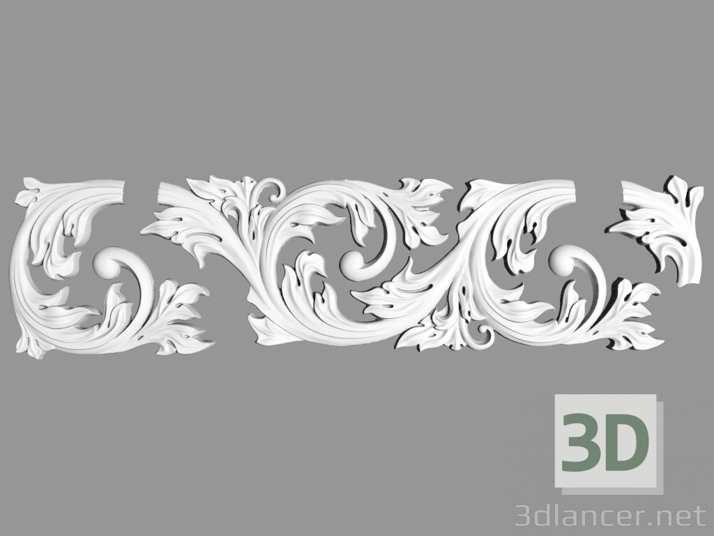 3d model Frieze (FR16) - preview