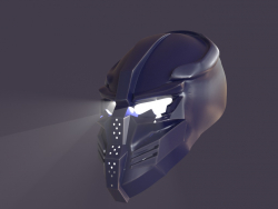 Máscara de robô
