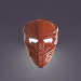 3d Robot mask model buy - render