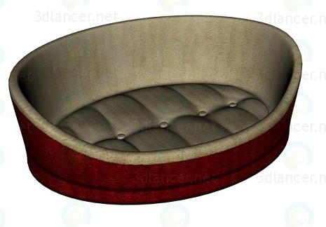 3d model Bedding for cats - preview