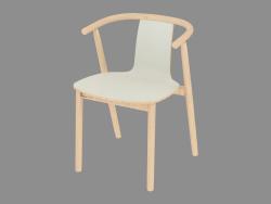 Chaise de salle à manger avec accoudoirs Bac