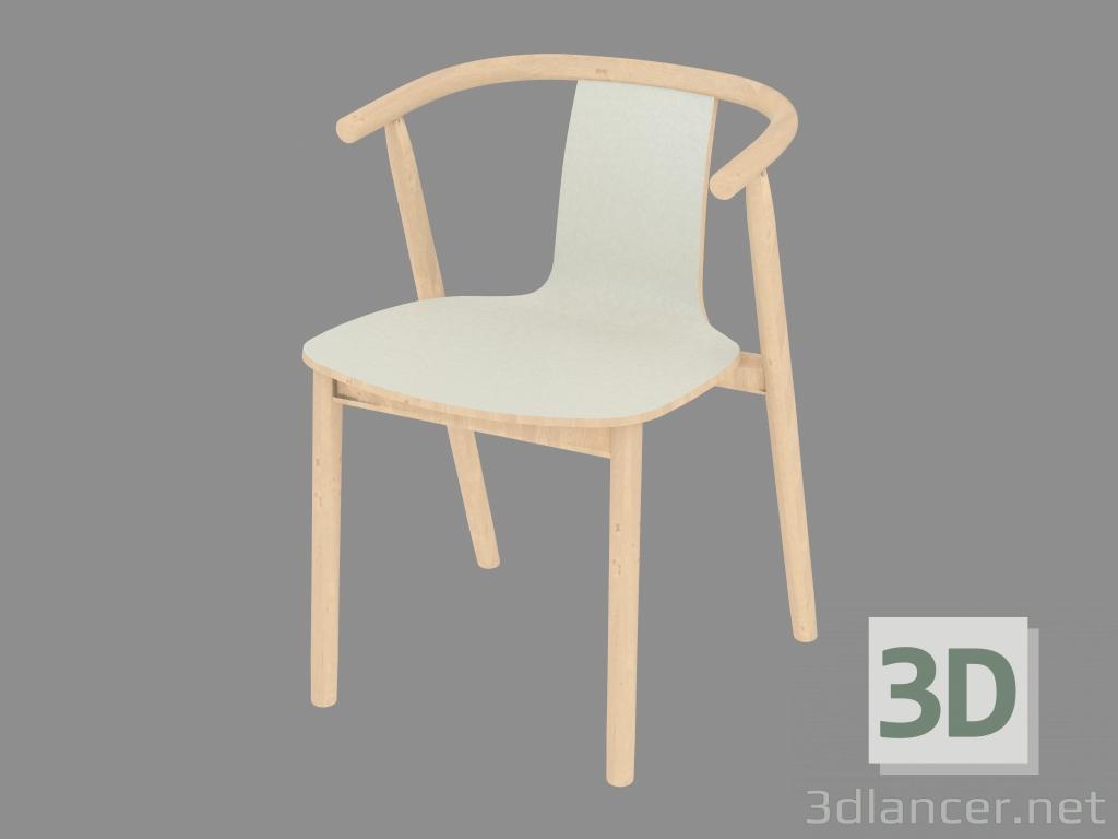 Modelo 3d silla de comedor con brazos bac del fabricante cappellini id 20837 - Sillas de comedor con brazos ...