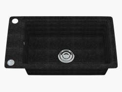 Fregadero, 1 recipiente sin ala para secar - Graphite Country (ZQU 2113)
