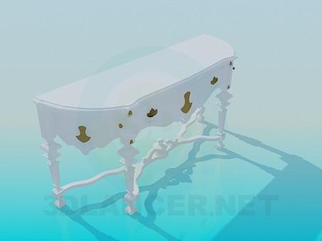 3d модель Консоль в класичному стилі – превью