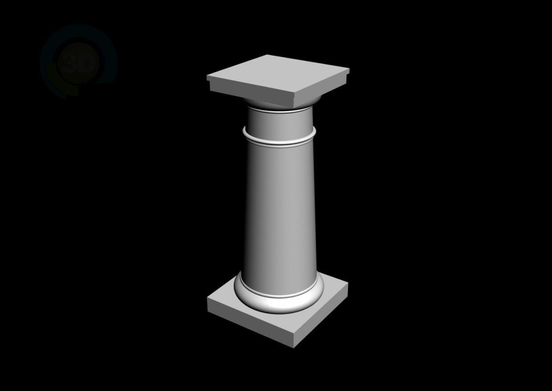 modelo 3D 2 de moldeo - escuchar