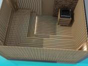 Ahşap sauna