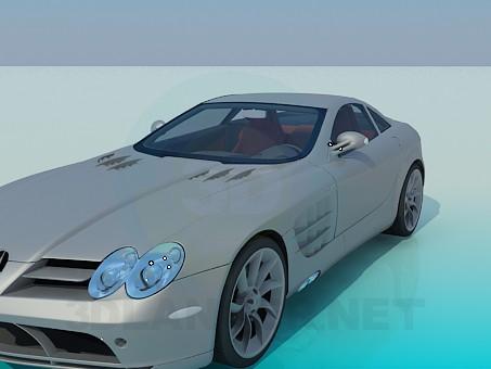 3d моделювання 2005 Mercedes-Benz SLR модель завантажити безкоштовно