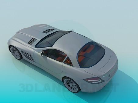 3d модель 2005 Mercedes-Benz SLR – превью