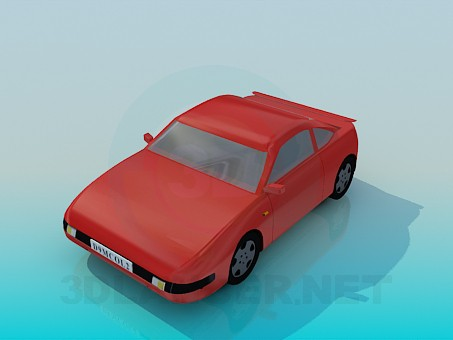 3d model Sports car - preview
