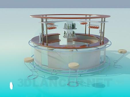 Барная Стойка 3D Модель Скачать