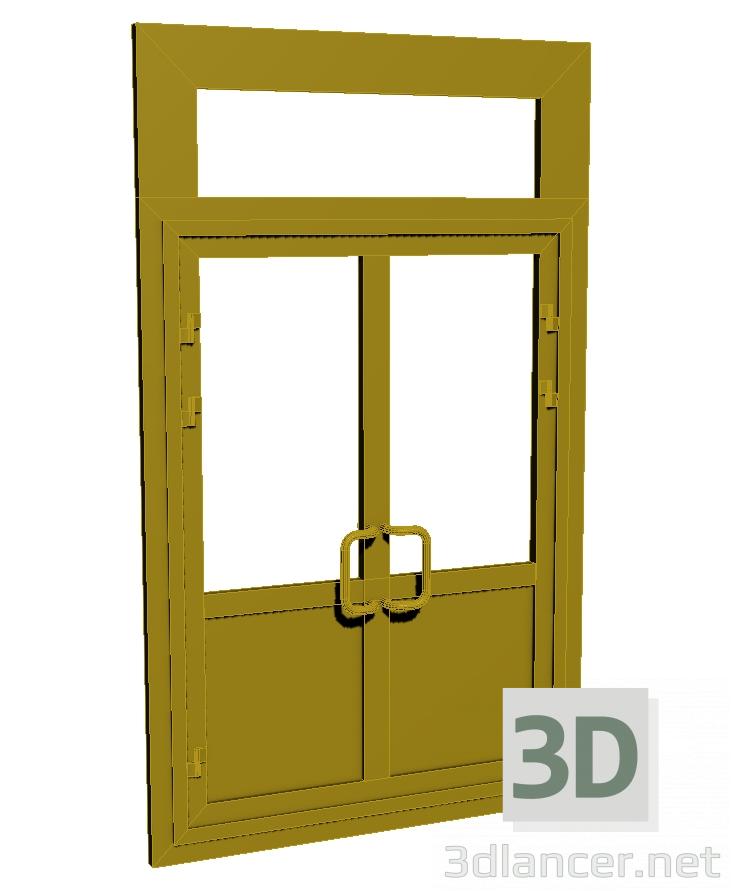 3d model Plastic entrance door - preview