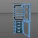 3d Refrigerator model buy - render