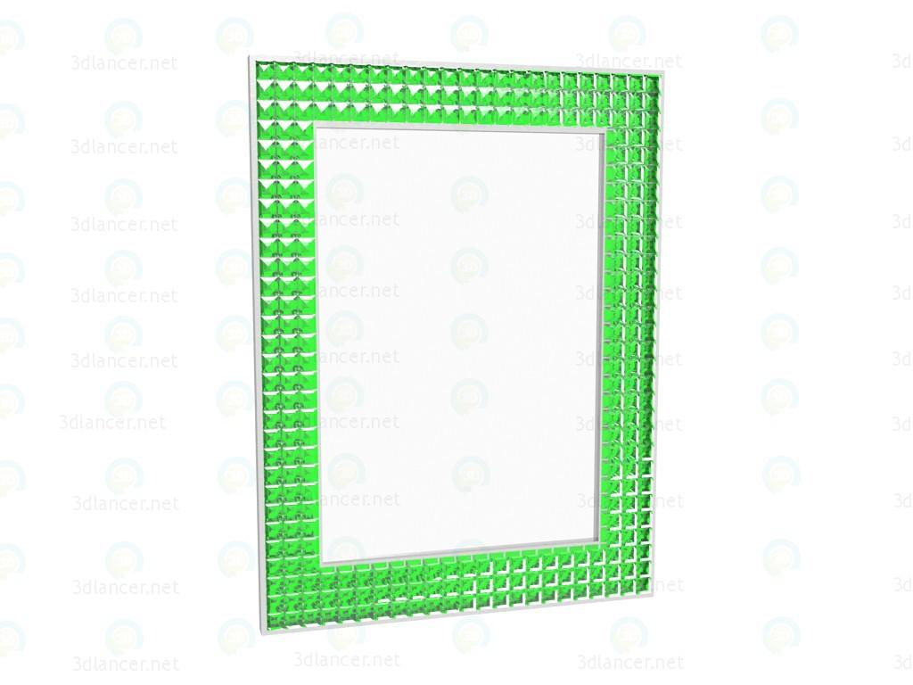 modelo 3D Cristales de espejo 60 x 80 - escuchar