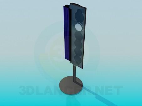 3d модель Акустическая колонка – превью