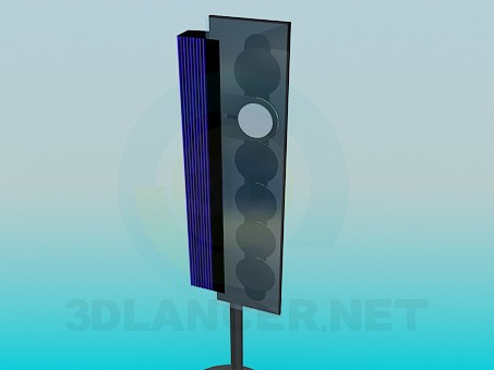 3d model Loudspeaker - preview
