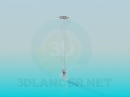 3d modeling Single lamp model free download