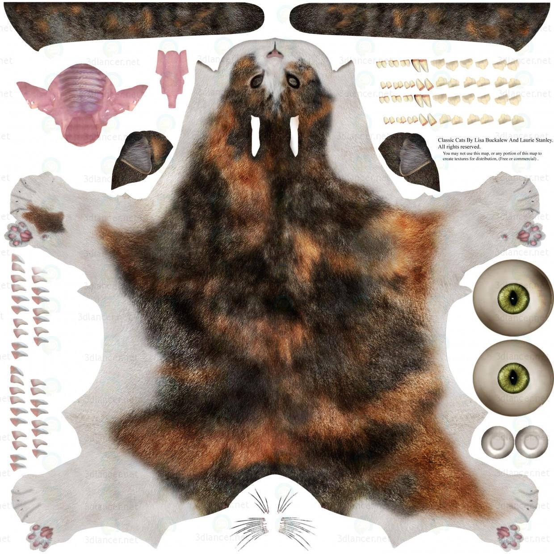 modelo 3D Barsik el gato 3 - escuchar