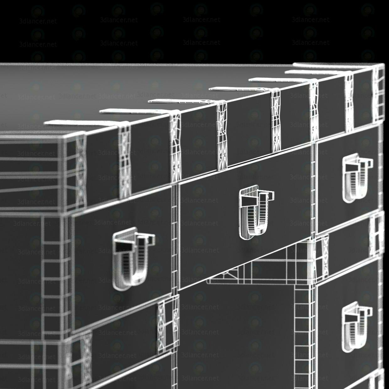 Escritorio HEIRLOOM SILVER CHEST Restoration Hardware 3D modelo Compro - render