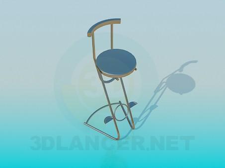 3d modeling Bar stool model free download