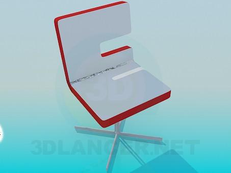 descarga gratuita de 3D modelado modelo Una silla en el tallo