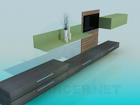 descarga gratuita de 3D modelado modelo Muebles de sala