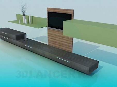 3d model Living room furniture - preview