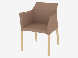 Chaise Chaise en cuir