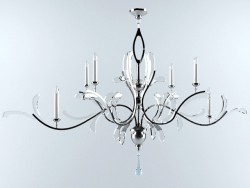 fine art lamp chandelier 700840 ST