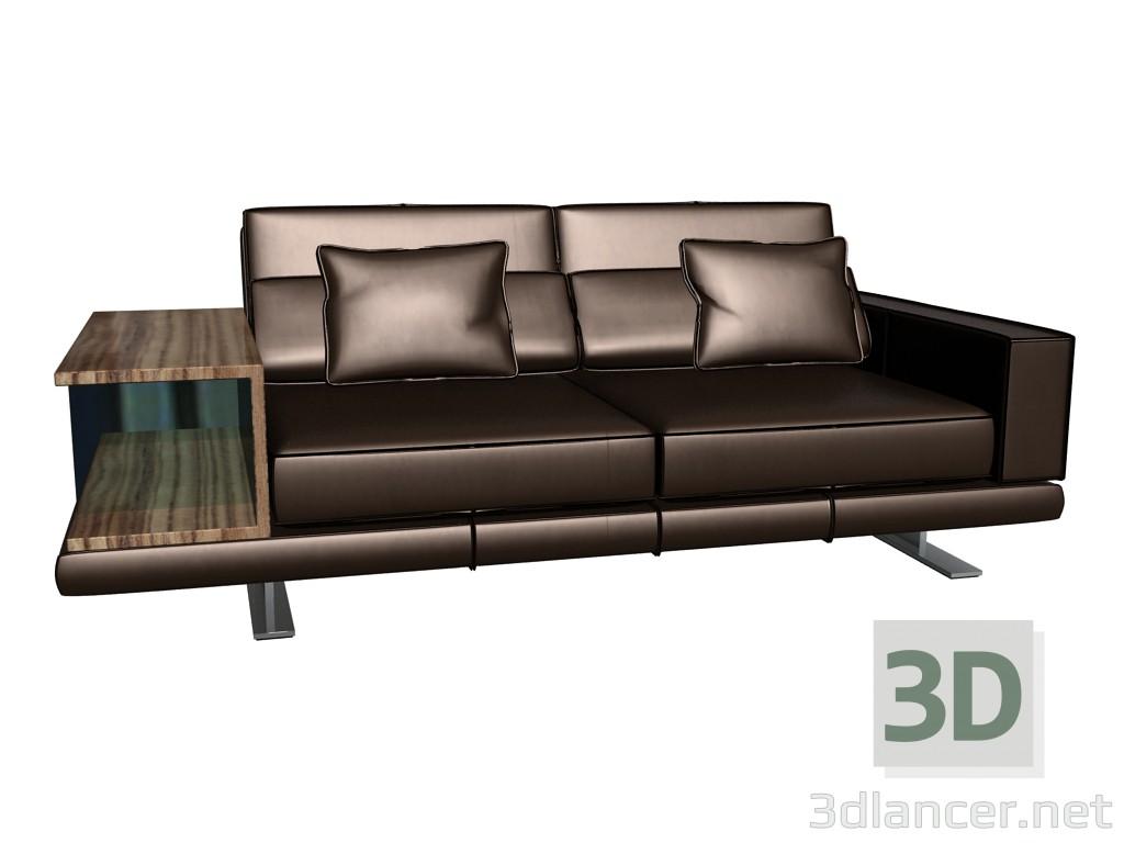 3d modell sofa mit sockel vero vom hersteller rolf benz id 14843. Black Bedroom Furniture Sets. Home Design Ideas