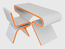 Table and chair Omega