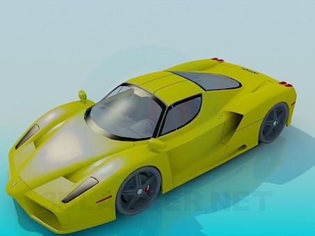 3d модель Ferrari Enzo – превью