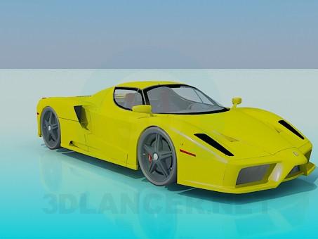 modelo 3D Ferrari Enzo - escuchar