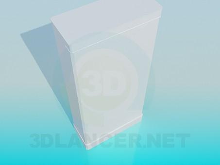 3d модель Стелаж – превью