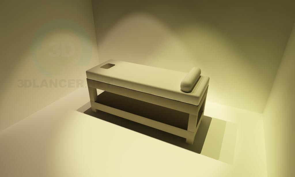 3d model Couch for massage - preview
