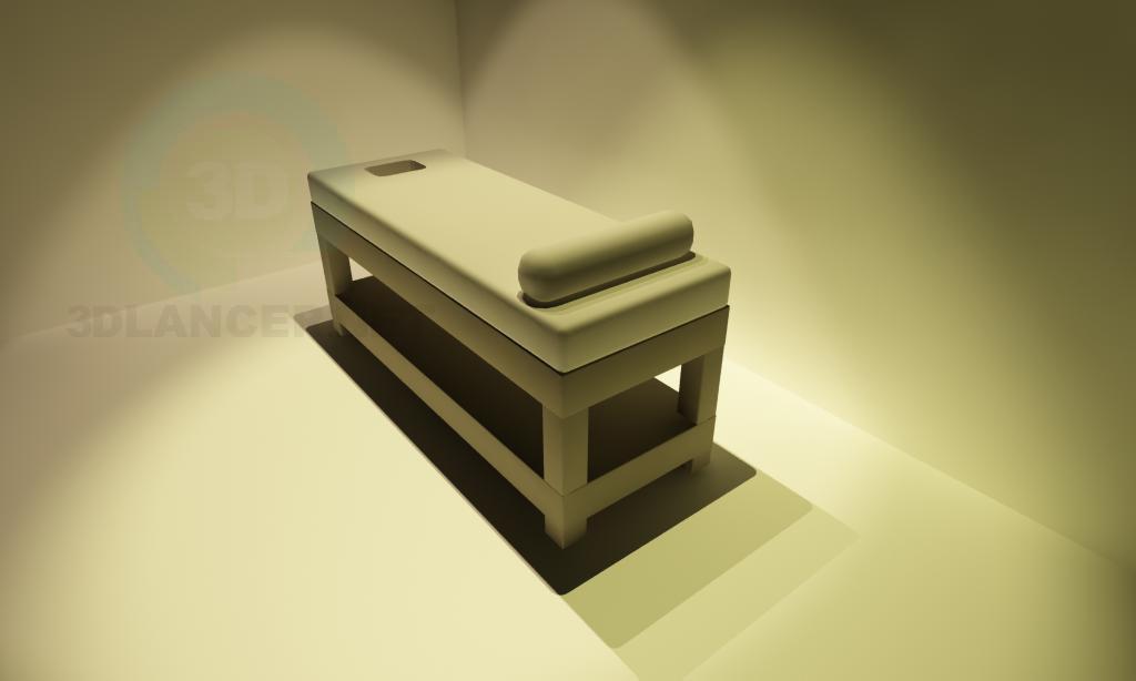 modelo 3D Sofá de masaje - escuchar