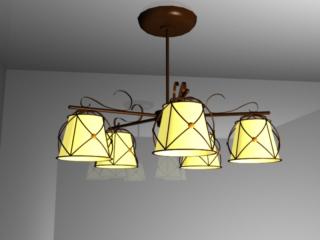 chandelier 5 lamps