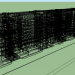 3d Chelyabinsk panel house series 9-PDA model buy - render